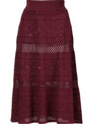 юбка А-образного силуэта крючком A.L.C.