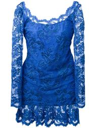 кружевное платье с открытой спиной  Balensi