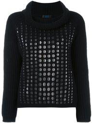 свитер с пайетками Twin-Set