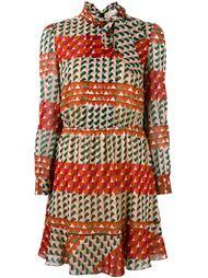 платье с геометрическим принтом Red Valentino