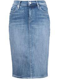 джинсовая юбка-карандаш Mother
