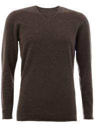 свитер c V-образным вырезом   Label Under Construction