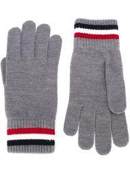 перчатки с контрастной окантовкой  Moncler