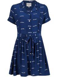 мини-платье с принтом рыб Sea