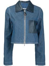 укороченная джинсовая куртка Edun