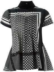 блузка в горох Sacai