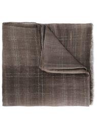 шарф с принтом тай-дай Brunello Cucinelli