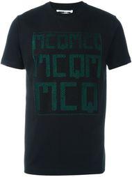 """футболка с эффектом """"тромплей"""" McQ Alexander McQueen"""