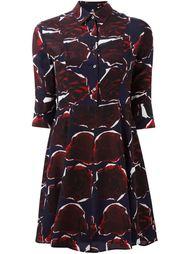 мини-платье с принтом роз Ps By Paul Smith