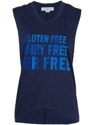 футболка с принтом 'Gluten' Stella McCartney