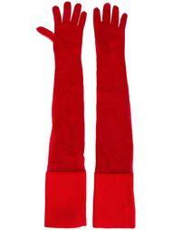 длинный перчатки  Mm6 Maison Margiela