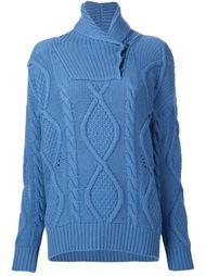 свитер с вырезом с запахом Stella McCartney