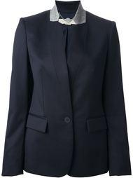 пиджак с контрастным воротничком Stella McCartney