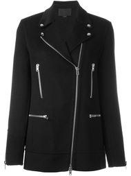 асимметричное пальто на молнии Alexander Wang