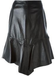 юбка с оборкой Givenchy