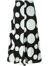 юбка с принтом в горох Ps By Paul Smith