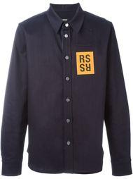 рубашка с логотипом  Raf Simons