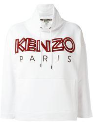 толстовка с вышивкой Kenzo Paris Kenzo