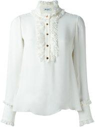 блузка с рюшами Dondup