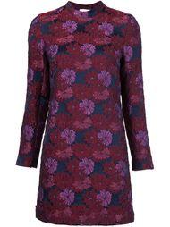 платье с фактурным цветочным узором Nicole Miller