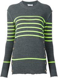 полосатый свитер с пуговицами сбоку Sonia Rykiel