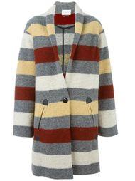 пальто в полоску 'Gabrie'  Isabel Marant Étoile