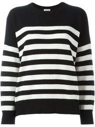свитер в полоску Saint Laurent