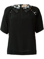 блузка с кружевными вставками  Nº21