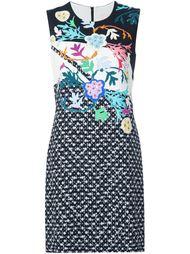 платье-шифт с цветочным принтом  Peter Pilotto