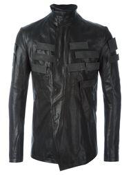 кожаная куртка с аппликацией Julius