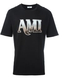 футболка с логотипом Ami Alexandre Mattiussi