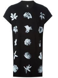 футболка с цветочным принтом Julius