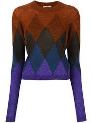свитер с градиентным эффектом  Marco De Vincenzo