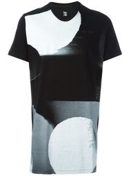 футболка с абстрактным принтом Julius