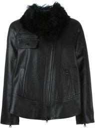 куртка с меховым воротником Proenza Schouler