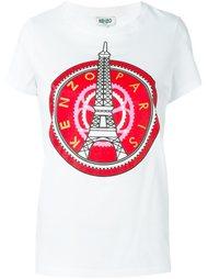 футболка 'Eiffel Tower' Kenzo