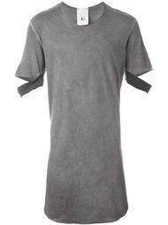 длинная футболка с вырезными деталями на рукавах Lost & Found Rooms