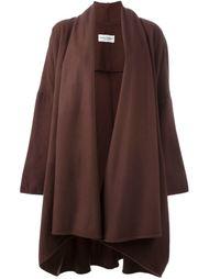 пальто с воротником шалькой  Dolce & Gabbana Vintage