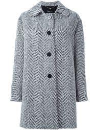 пальто в елочку  Twin-Set