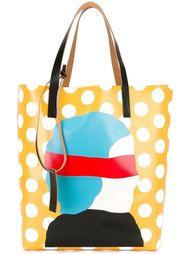 сумка-шоппер с принтом Ekta Marni