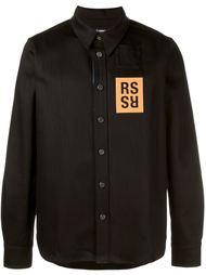 джинсовая рубашка Raf Simons