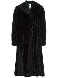 пальто из искусственного меха Emanuel Ungaro Vintage