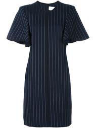 платье в мелкую полоску  Victoria Victoria Beckham