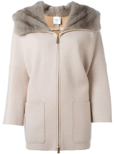 пальто с рукавами три-четверти  Agnona