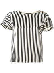 полосатая блузка с пуговичной застежкой A.P.C.