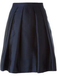 плиссированная юбка  Burberry