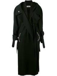 пальто с декоративной отделкой карманом Preen By Thornton Bregazzi