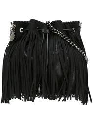сумка-мешок на плечо с бахромой 'Falabella' Stella McCartney