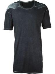 футболка с тонально-градиентным эффектом  11 By Boris Bidjan Saberi