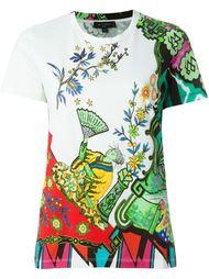 футболка с абстрактным принтом   Etro
